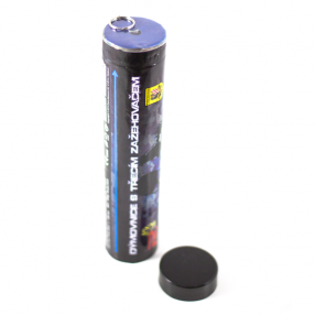 Smoke Grenade with friction igniter - blue Click to view the picture detail.
