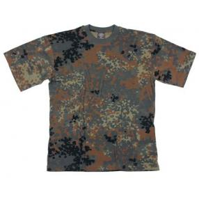 MFH Camo T-shirt, flecktarn Click to view the picture detail.
