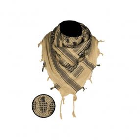 Shemagh Scarf Pineaple, coyote/black Click to view the picture detail.
