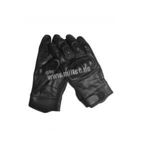 Mil-Tec Tactical Leather Gloves black Click to view the picture detail.