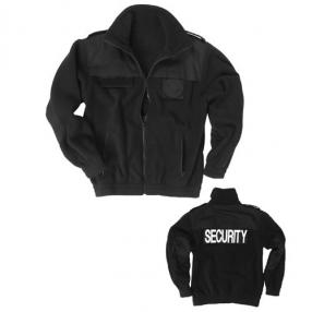 Mil-Tec Fleece Jacket, black size M Click to view the picture detail.