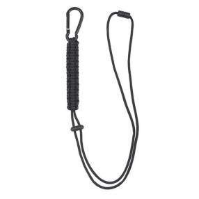Mil-Tec Paracord Lanyard, Black Click to view the picture detail.