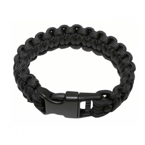 Bracelet paracord, black Click to view the picture detail.