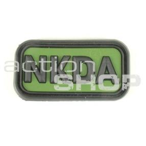 Patch NKDA green - 3D Click to view the picture detail.