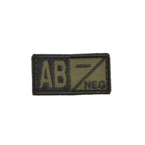 Patch - AB NEG green Click to view the picture detail.