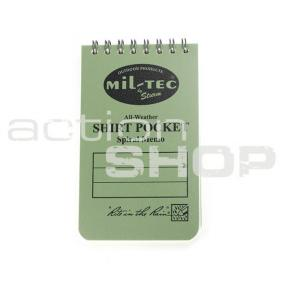"Waterproof notebook Rite-in-Rain 3/5"" Click to view the picture detail."