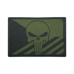 Patch Czech flag Punisher green Click to view the picture detail.