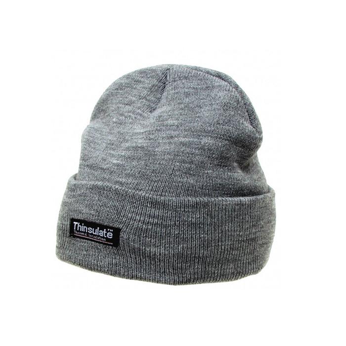 MFH knitted cap THINSULATE - gray  827830ab12e3