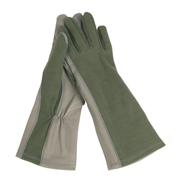 ed3ba73a9fd Mil-Tec US letecké nomexové rukavice olivové Kliknutím zobrazíte detail  obrázku.