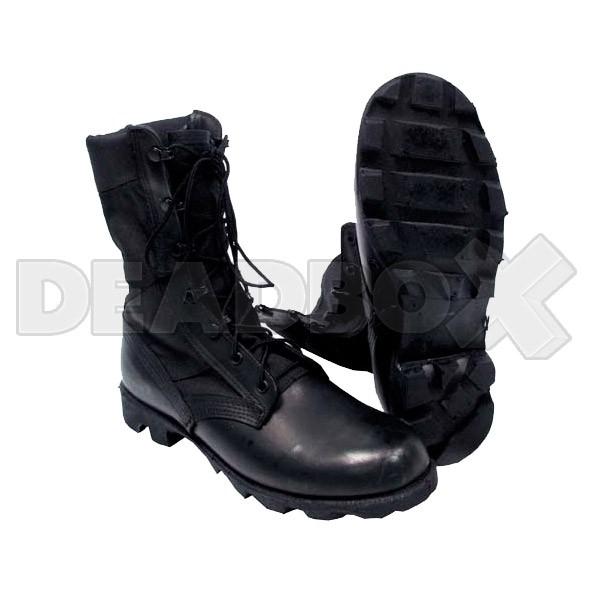 edbc5e74ae9d MFH US Jungle Boots Panama (black)